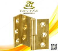 Bản lề cửa gỗ bằng đồng