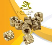 Ốc cấy bằng đồng Brass Molded