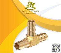 Nối ống mềm 3 hướng bằng đồng