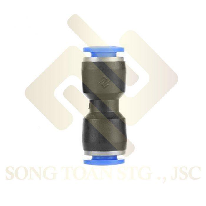 APU - Nối thẳng 2 đầu nối ống hơi - khí nén - phun sương