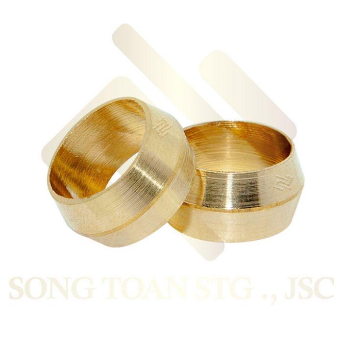 Hạt bắp (nhẫn) nối ống Bằng đồng