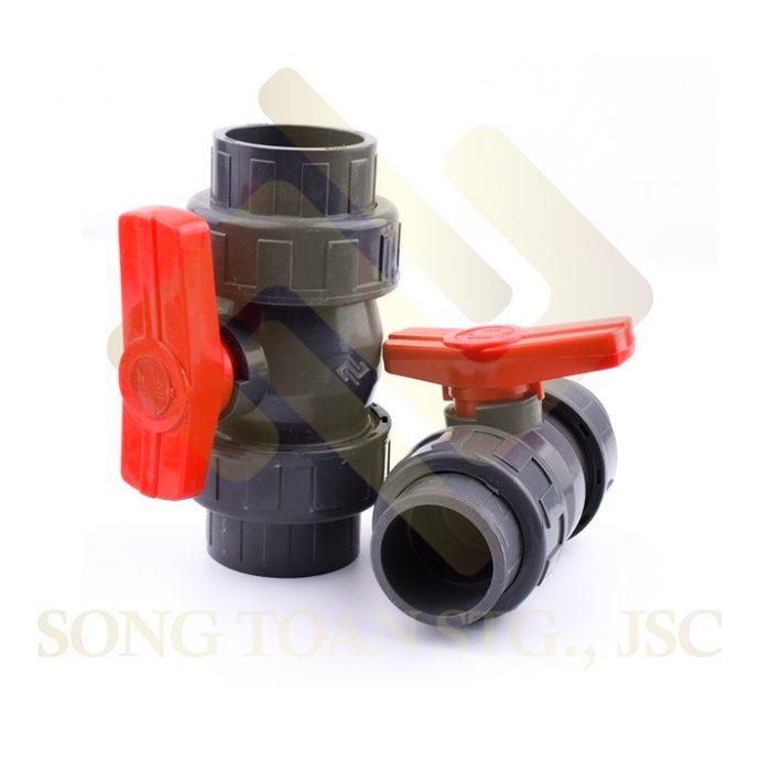 van nhựa PVC racco