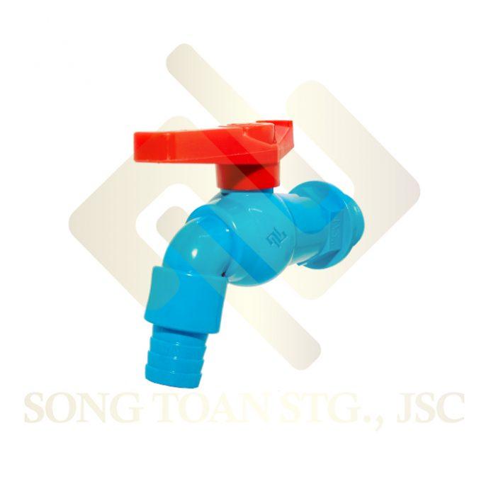 vòi nhựa tay gạt 180 độ